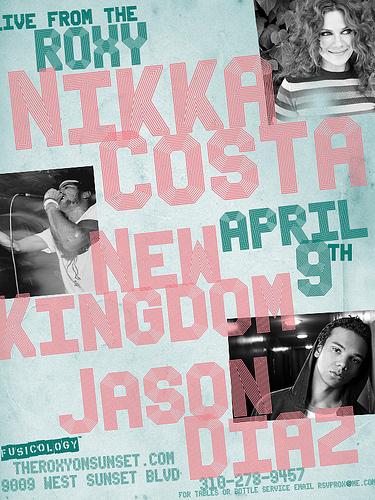 Nikka Costa @ The Roxy April 9th