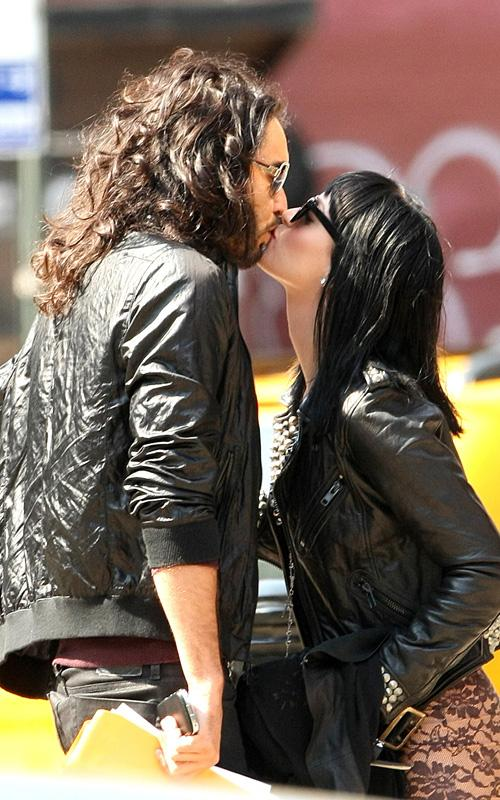 Russell Brand & Katy Perry.