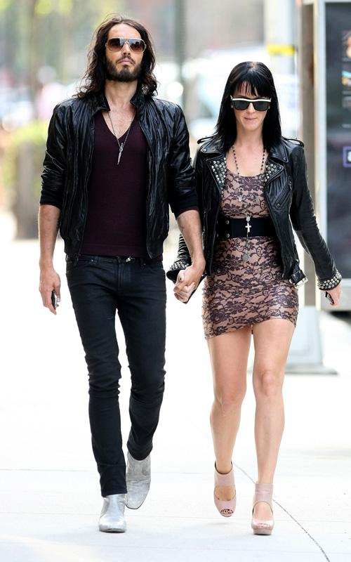 Russell Brand & Katy Perry. Photo: INFDaily.com