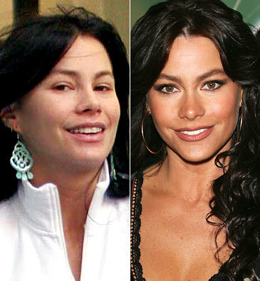 Sofia Vergara Without Make-Up and With