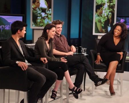 Oprah & The Eclipse Cast. Photo: Oprah.com