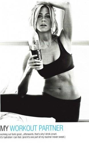 Jennifer Aniston. Photo: SmartWater.com