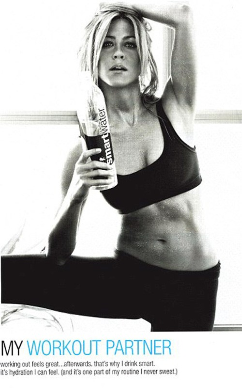 Jennifer Aniston. Photo: SmartWater.com