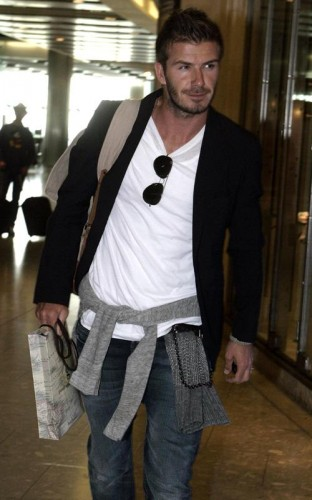 David Beckham.  Photo: INFDaily.com