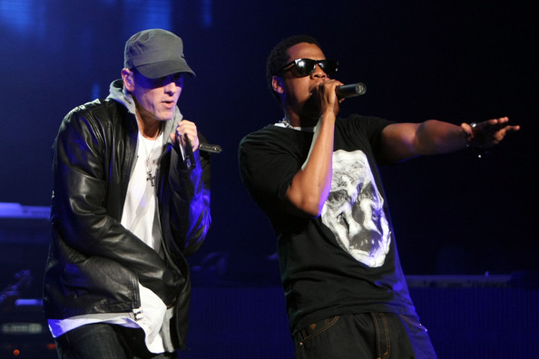 Eminem & Jay Z Perform In L.A. File Photo