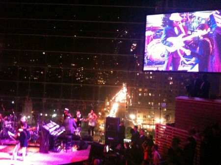 Twitpic of Time Gala Show Courtesy of Yfrog.com