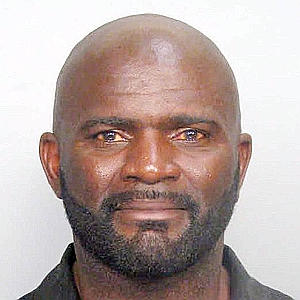 Lawrence Taylor. Old Booking Photo. (AP Photo/Miami-Dade Corrections Department, HO)