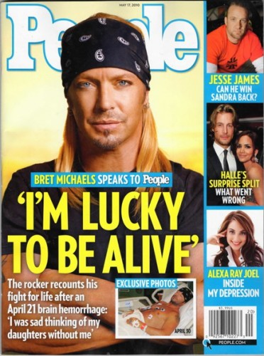Bret Michaels. Photo: People.com
