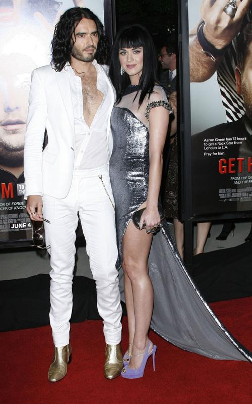 Russell Brand & Katy Perry. Photo: GettyImages.com