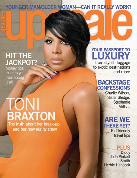 Toni Braxton Photo: Upscale Magazine