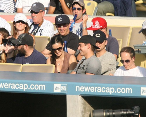 Zac Efron, Demi Moore, & Ashton Kutcher. Photo: SplashNewsOnline.com