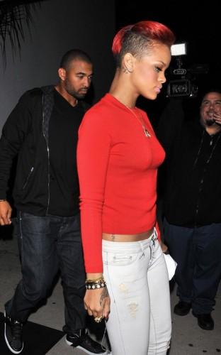 Matt Kemp & Rihanna. Photo: FamePictures.com
