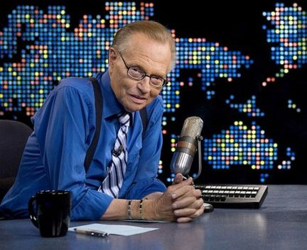 Larry King. File Photo