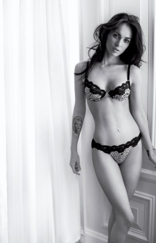 Megan Fox. Photo: Armani.com