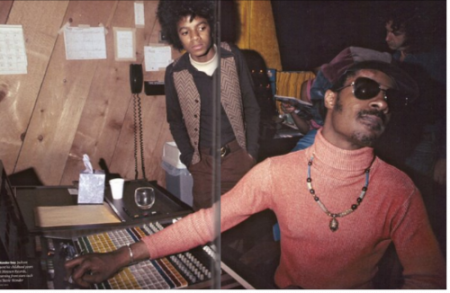 Michael Jackson & Stevie Wonder Back In The Day......