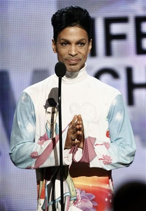 Prince. Photo: AP Photo/Matt Sayles