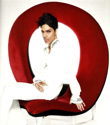 Prince in Ebony Magazine