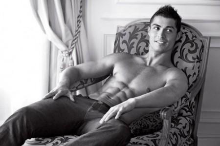Christiano Ronaldo. Photo: Giorgio Armani