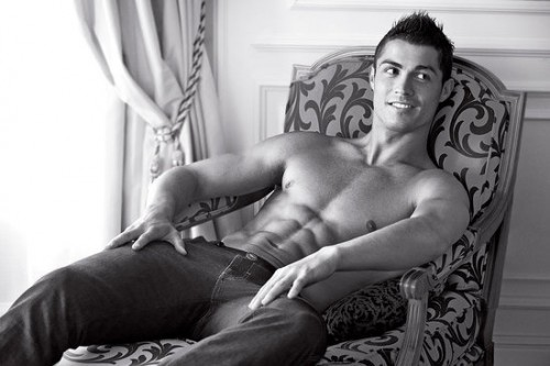 Christiano Ronaldo. Photo: Giorgio Armani