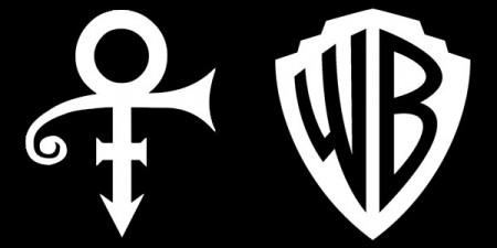 Prince's Symbol Of Success & Warner Bros. Logo File Image