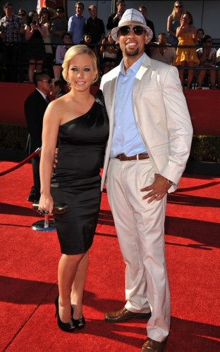 Kendra Wilkinson & Hank Baskett. Photo: GettyImages.com