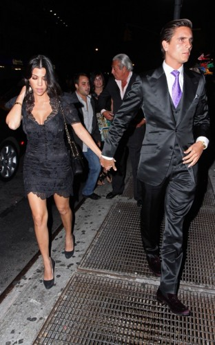 Kourtney Kardashian & Scott Disick. Photo: SplashNewsOnline.com