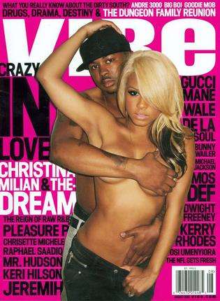 Vibe Magazine Christina Milian The Dream