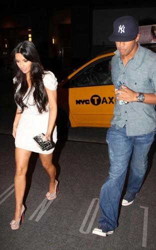 Kim Kardashian & Miles Austin. Photo: SplashNewsOnline.com