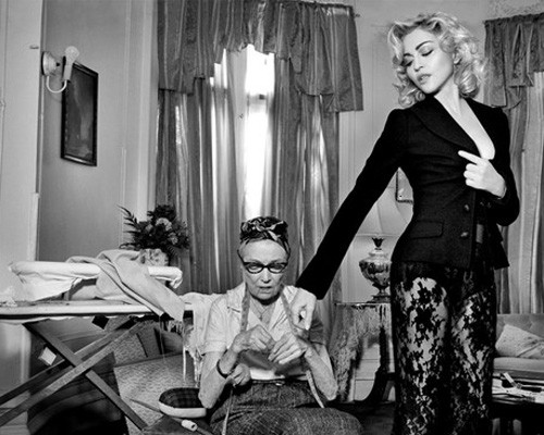 Madonna For Dolce & Gabbana