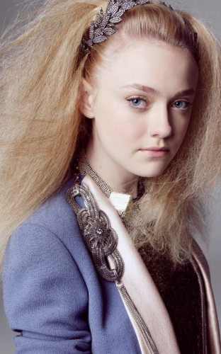 Dakota Fanning. Photo: MarieClaire.com