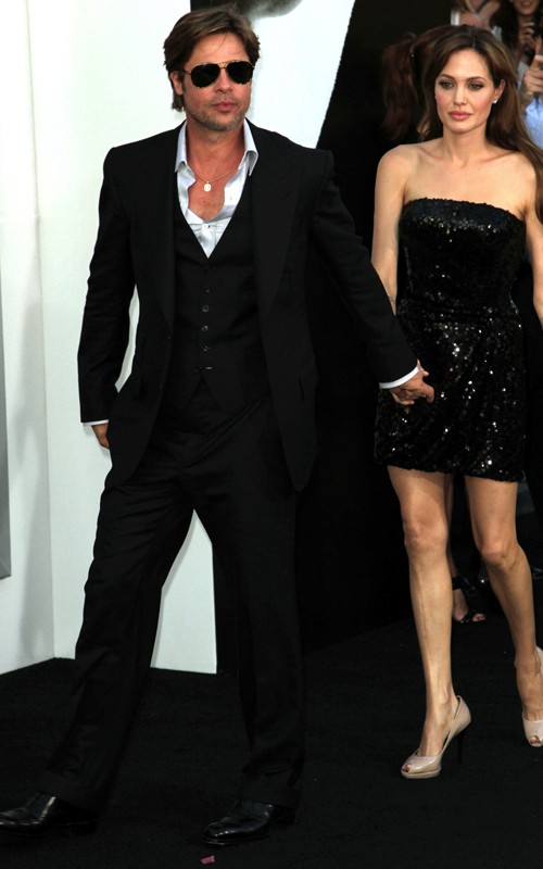 Brad Pitt & Angelina Jolie. Photo: GettyImages.com