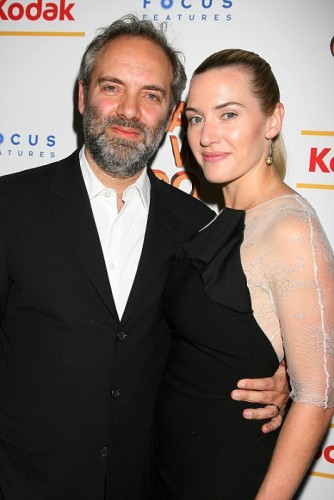 Sam Mendes & Kate Winslet. Photo: AP