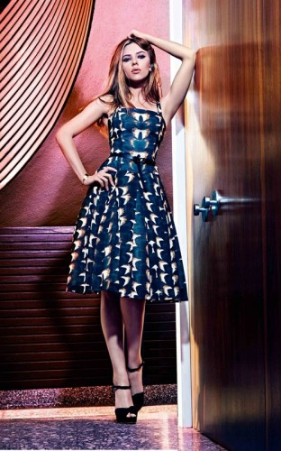 Scarlett Johansson.  Photo: Mango