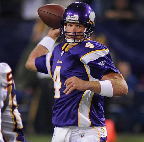 Brett Favre. Photo: ZUMAPRESS.com