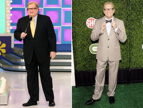 Drew Carey Then & Now. Photos: GettyImages, AP Photo