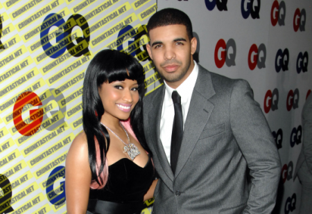 Nicki Minaj & Drake. Photo: Gettyimages.com