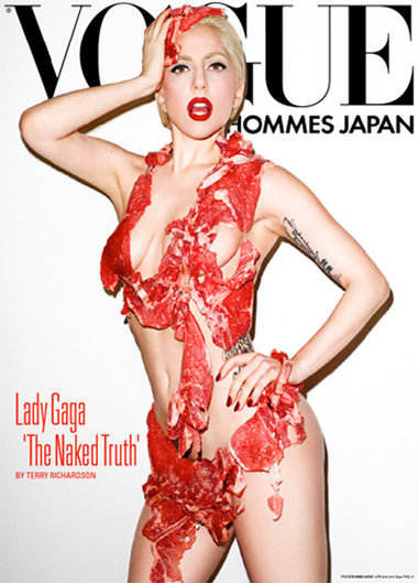 Lady Gaga. Photo: Vogue Hommes Japan