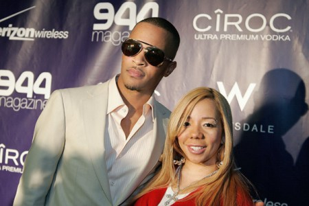 T.I. &amp; Tiny. File Photo
