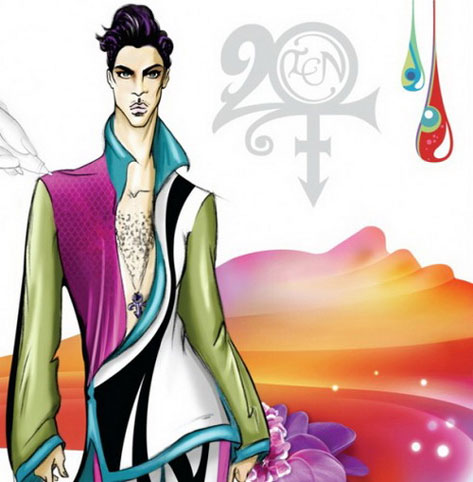 Prince 20Ten CD Cover