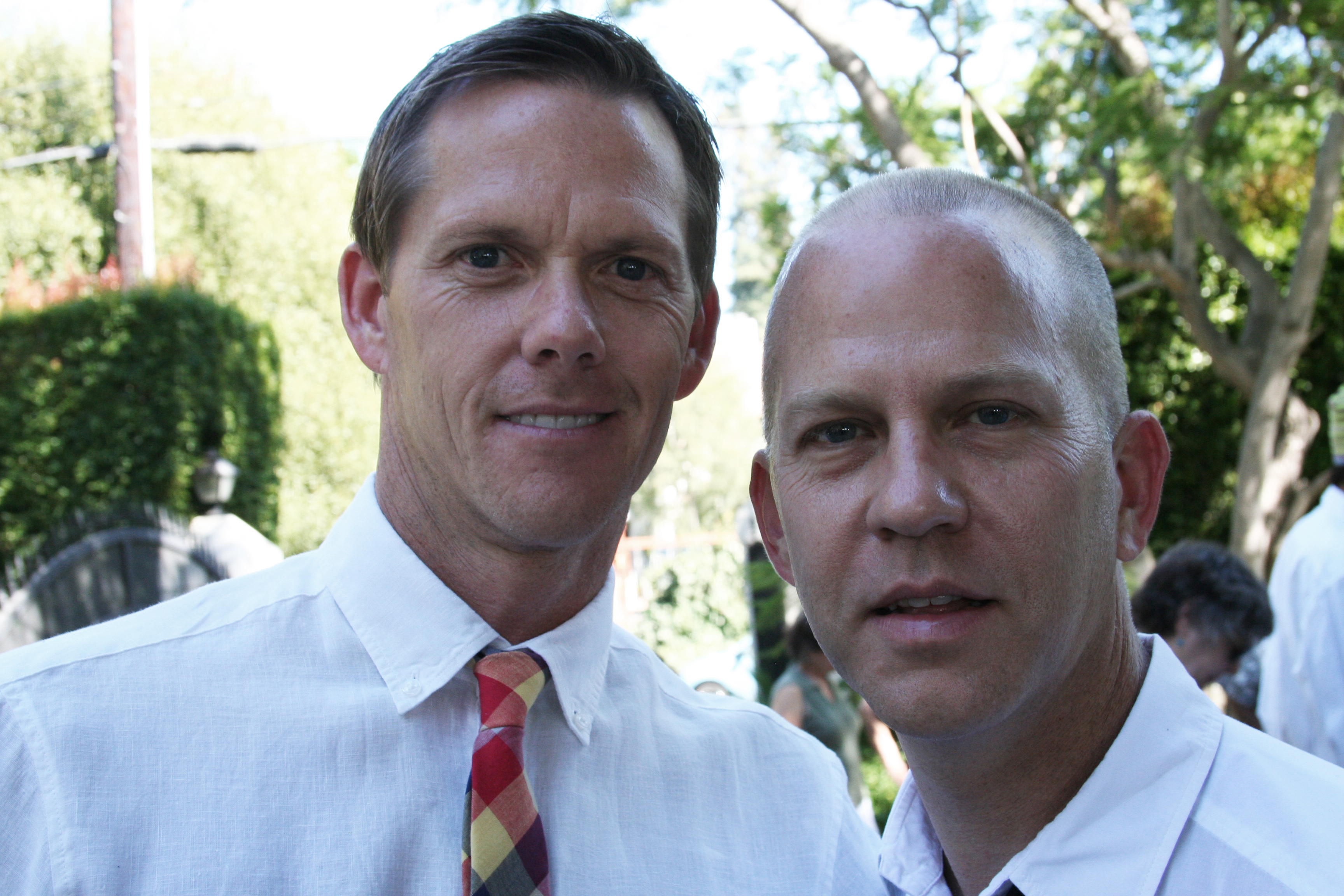 Ryan Murphy And Partner. Photo: ACLU