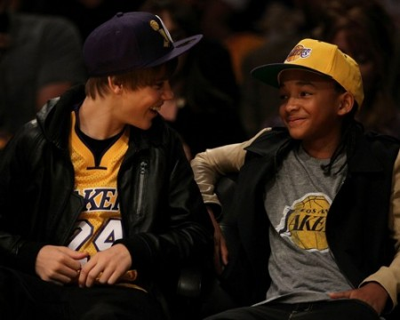 Justin Bieber &amp; Jaden Smith. Photo: SplashNewsOnline.com