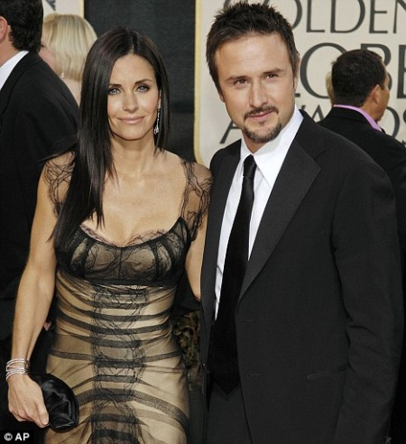 Courtney Cox &amp; David Arquette. Photo: AP