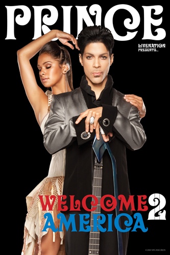 Prince Welcome 2 America. Photo: LiveNation.com
