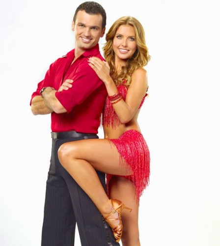 Tony Dovolani & Audrina Patridge. Promotional Photo