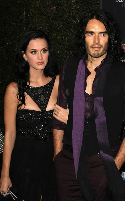 Katy Perry & Russell Brand. Photo: GettyImages.com