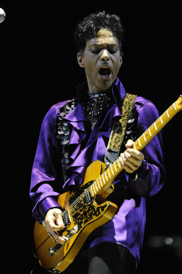 Prince. Photo Courtesy of NPG Records For Use By Dr.Funkenberry.com