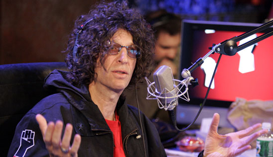 Howard Stern. Photo: Sirus