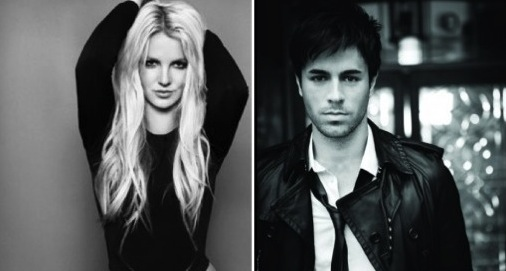 Britney Spears &amp; Enrique Iglesias. Photo: Idolater.com
