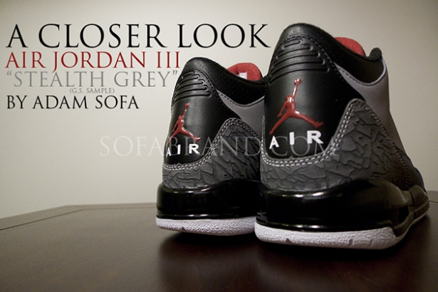 Air Jordan 3's From Nike. Photo: Sofabrand.com