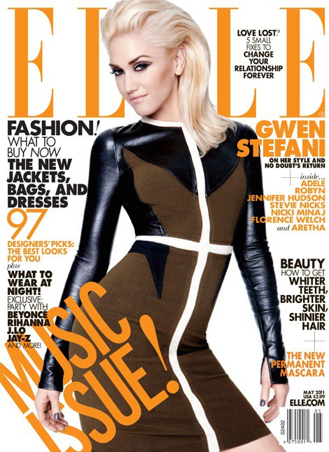 Gwen Stefani. Photo: Elle Magazine